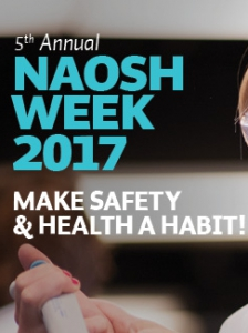 Save the date! NAOSH Week is almost here!