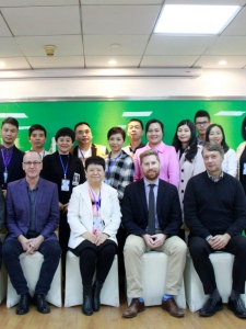PRTC and RRU partner to deliver Graduate Certificate in China