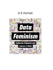Data feminism book cover