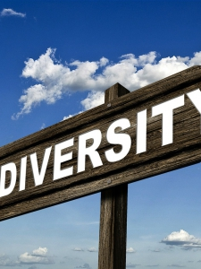 Diversity Sign - This Way!