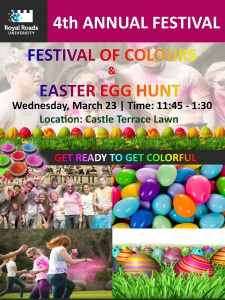 Festival of Colours and Easter Egg Hunt