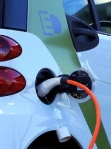 Picture of an electric car