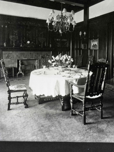 Dunsmuir dining table