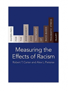 Book cover: Measuring the Effects of Racism