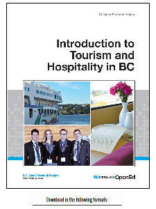 Introduction to Tourism and Hospitality in BC - open textbook with RRU authors