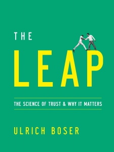 The Leap - Book cover