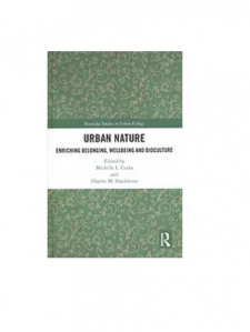 Urban nature book cover