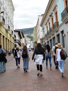 MA in Global Leadership travels to Ecuador