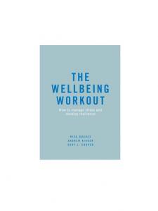 Book cover of the Wellbeing Workout