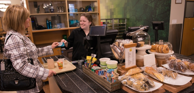 Habitat Cafe hours of operation April 8 to 17