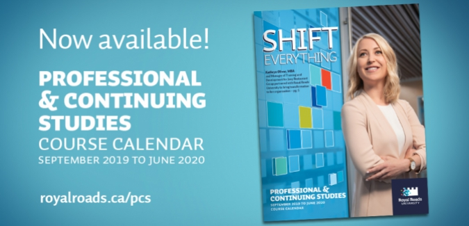 Professional and Continuing Studies Calendar 2019-20