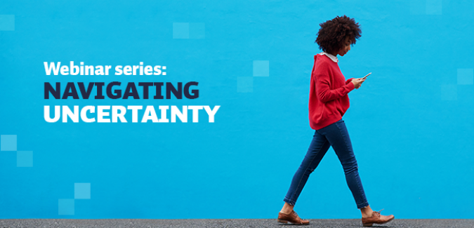 Navigating Uncertainty webinar series: Design Thinking for Disrupted Times