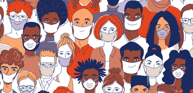 July 28 webinar - Unmasking the Pandemic: Masks as a Visual Metaphor of COVID-19