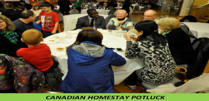 IEW: Canadian Homestay Potluck