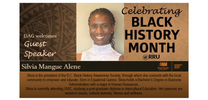 Silvia Mangue Alene from the B.C. History Awareness Society