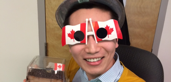 Cai is now Canadian!