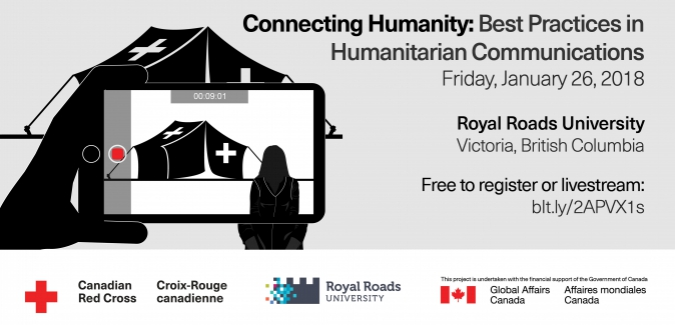 Royal Roads & The Canadian Red Cross Conference: Best Practices in Humanitarian Communications