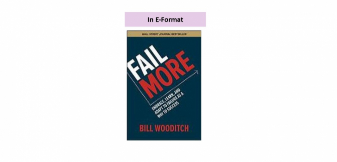 Fail More book cover