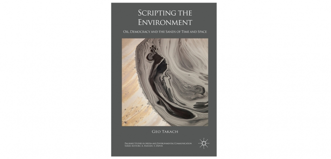 Geo Takach's new book, Scripting the Environment