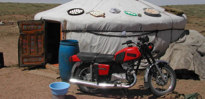 Photo of Mongolian Nomad's Tent