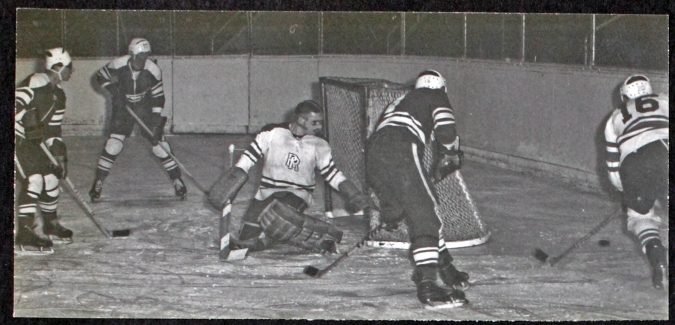 Hockey 1965-66 RRMC album RRU Archives