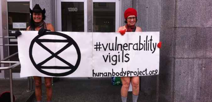 Tasha Diamant, associate faculty in the ISC, BAPC and BAJS, will hold a #VulnerabilityVigil