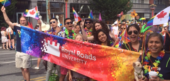 Royal Roads celebrates Pride Week 2018 July 3 to 8
