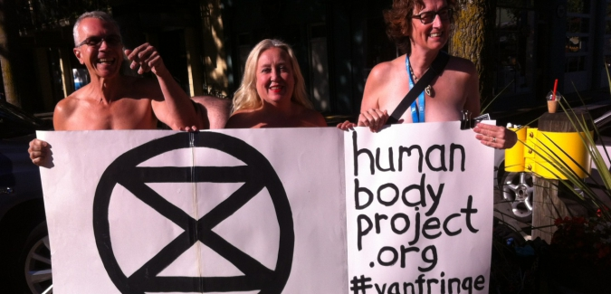 Vulnerability Vigil at the Vancouver Fringe