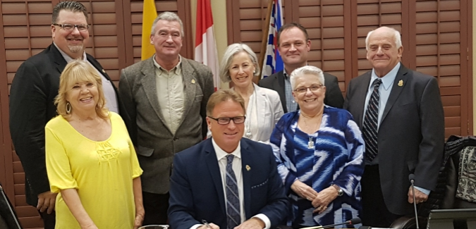 Royal Roads University and City of Langford formalize partnership to explore opportunities