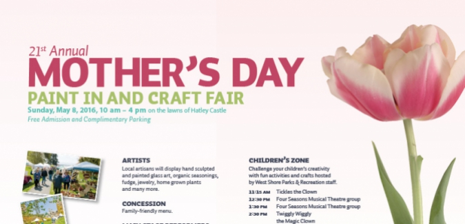 Mother's Day Paint-In and Craft Fair