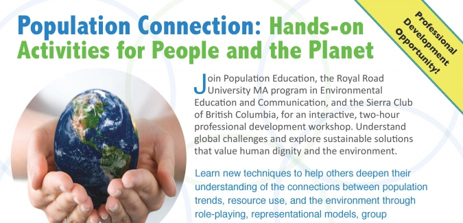 """MAEEC co-sponsors workshop, """"Population Connection: Hands-on Activities for People"""""""