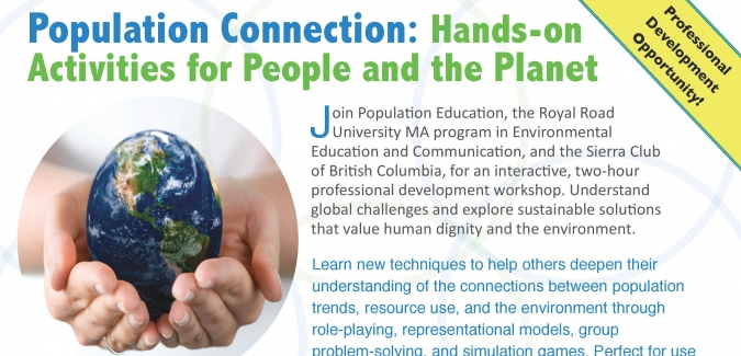 Population Connection: Hands-on Activities for People
