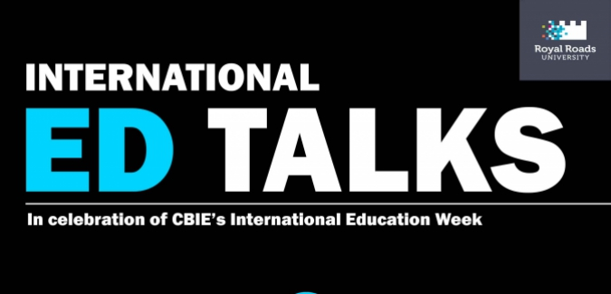 International Ed Talks Poster