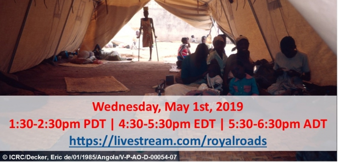 Canadian Red Cross and Royal Roads University Live Webcast- Celebrating the Geneva Conventions