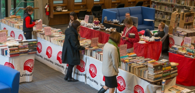 United Way Bake and Book Sale