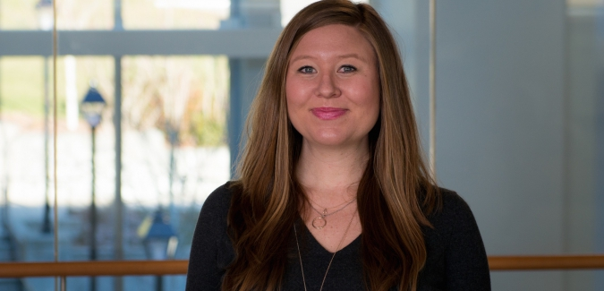 Sarah Halpenny, permanent member of MBA team