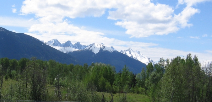 Seven Sisters Mountain in Northwestern BC