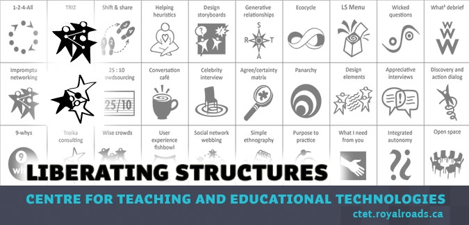 Liberating your teaching with Liberating Structures: Impromptu Networking and Troika Consulting