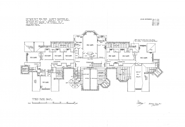 Hatley castle floor plan hatley castle created with for Floor plans victoria bc