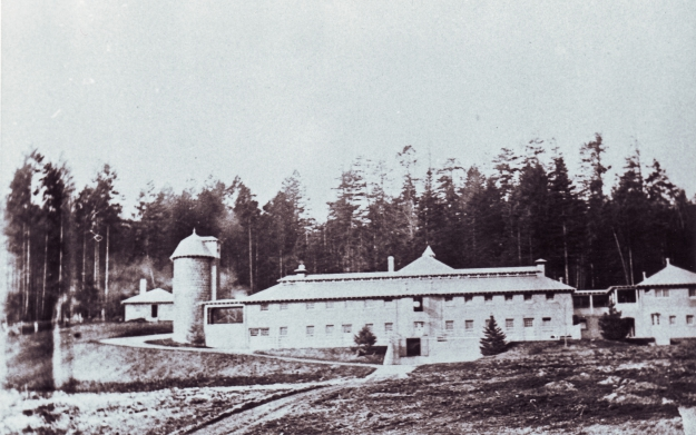 Dunsmuir dairy from the south RRU Archives