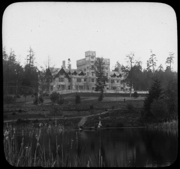 Kishida's garden at Hatley. Photo Credit: Library and Archives Canada, 3309046