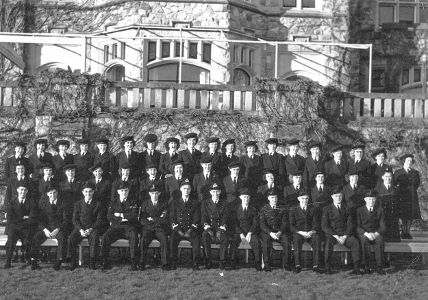 Wrens at Royal Roads 1940s RRMC fonds RRU Archives